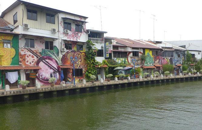Melaka river front