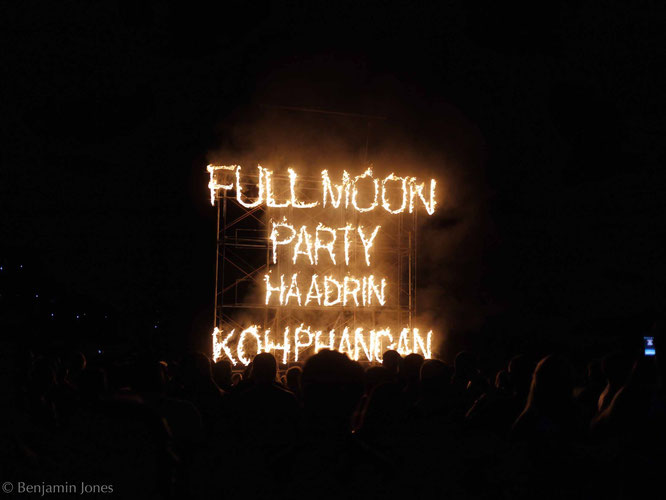 Full Moon Party Fire Sign