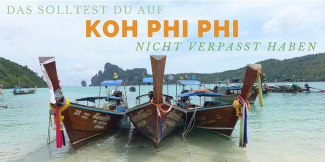 Was tun auf Koh Phi Phi