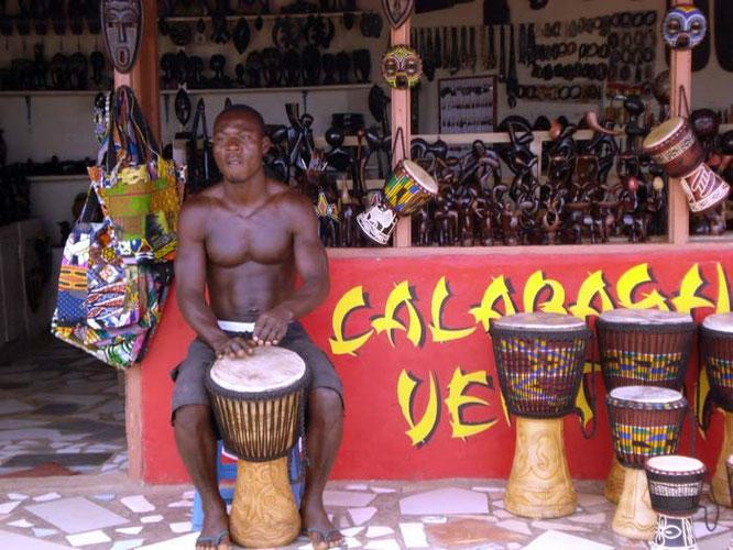 Trommeln Accra Ghana