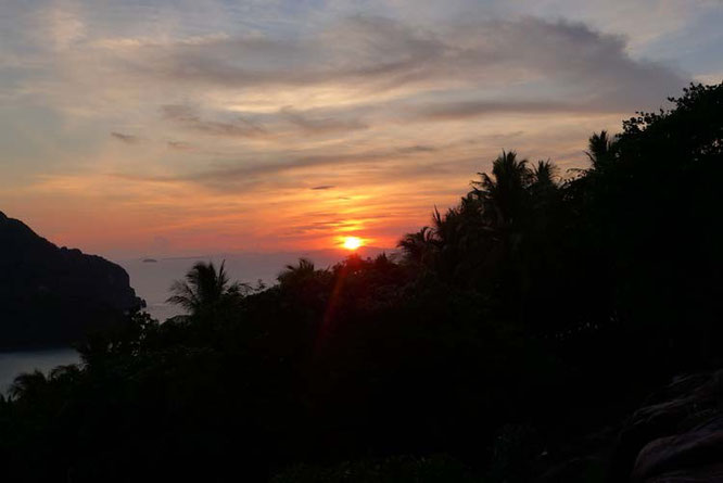 Viewpoint Koh Phi Phi Sunset