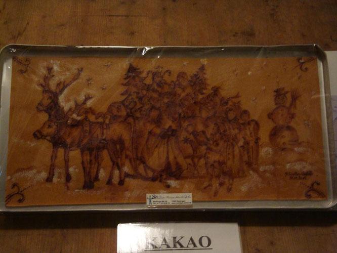 ChocolART Kakaomalerei