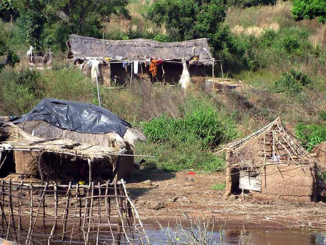 Dorf Ghana