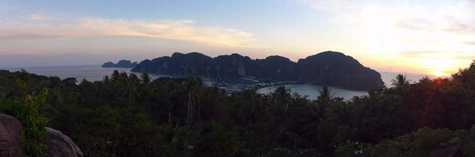 Sunset Viewpoint Koh Phi Phi