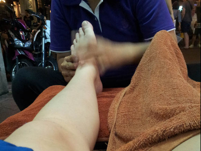 Massage Thailand Bangkok Khao San
