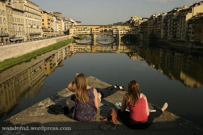 Florenz Ponte Danta Trinita