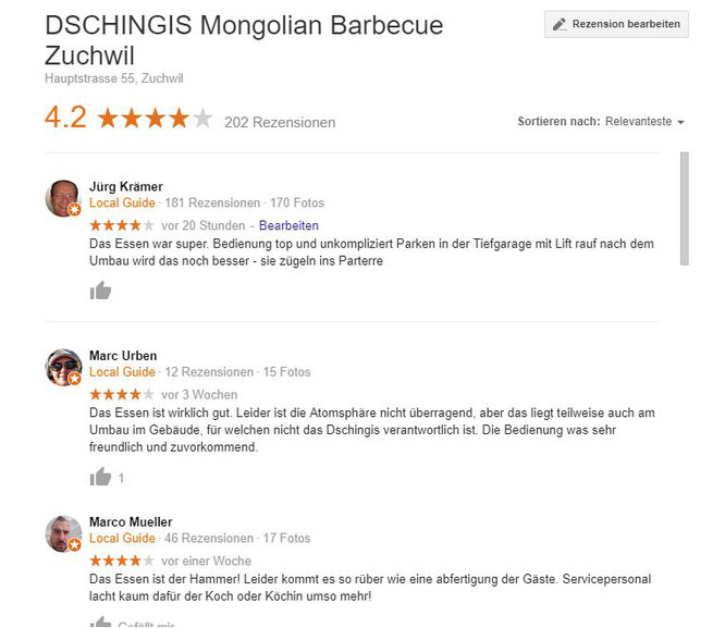 Gutes mongoilisches Restaurant i