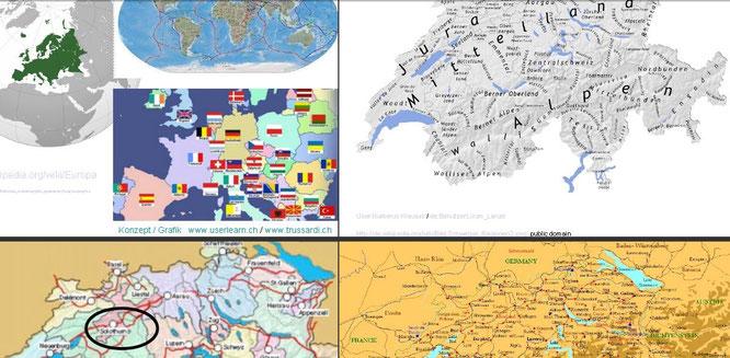 geographie schweiz