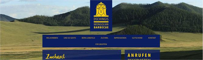 mongolisches restaurant