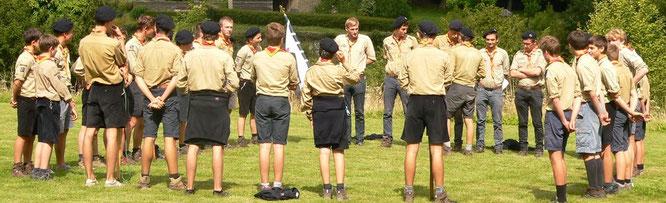 Bon périple aux scouts de Meudon !