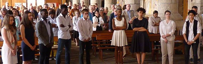 4-Les jeunes affirment leur volonté en rejetant le mal et en professant leur Foi