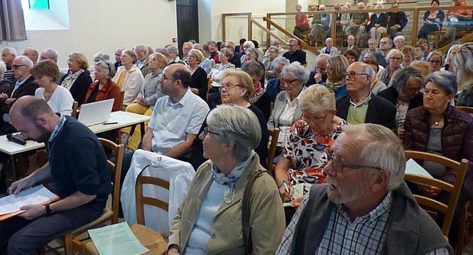 4-Une assemblée de près de 130 acteurs de la Pastorale