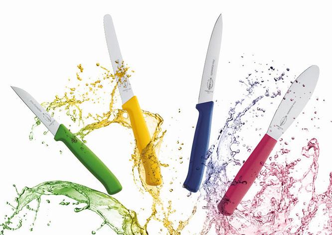 Friedr.Dick Küchenmesser Serie ProDynamic jetzt in bunter Vielfalt erhältlich  Bild: ©Friedr.Dick