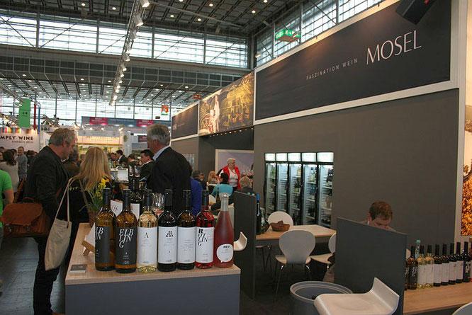 Mosel Wein e.V. auf der ProWein    Foto: TheCulinarian/2014