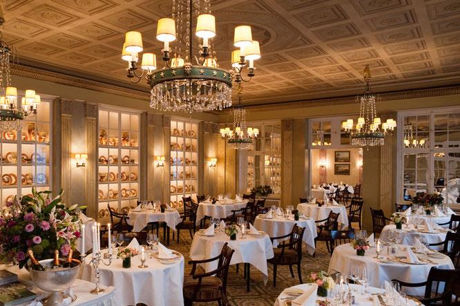 Das Restaurant Sèvres im Grandhotel Hessischer Hof  ©Grandhotel Hessischer Hof