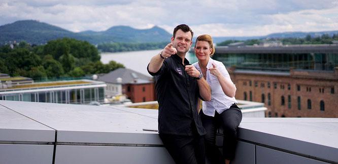 Christian Sturm-Willms & Melanie Hetzel von YUNICO im Kameha Grand Bonn    Foto:© Kameha Grand Bonn