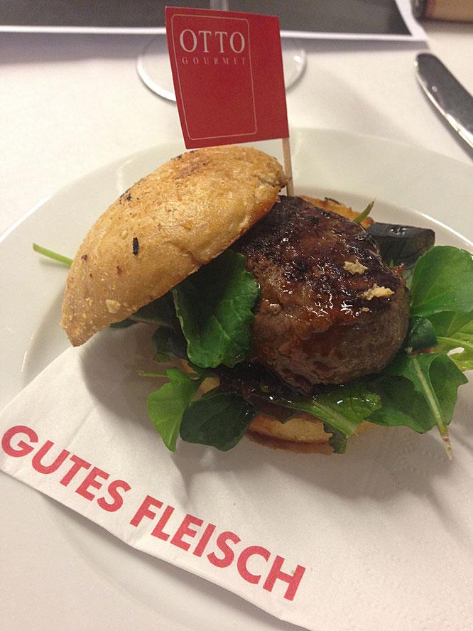 © PvG-TheCulinarian | Burger der Spitzenklasse: Otto-Gourmet präsentierte feine Morgan Ranch Wagyu-Burger.