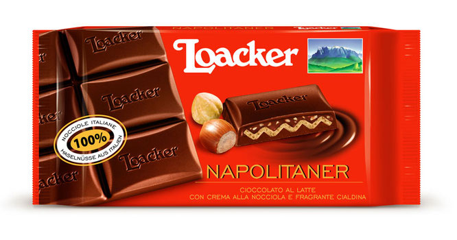 Foto: NAPOLITANER Schokoladentafel ©LOACKER