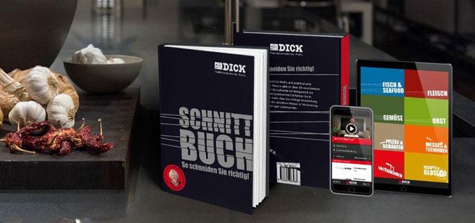 SCHNITTBUCH - SO SCHNEIDEN SIE RICHTIG .    ©Friedr.Dick