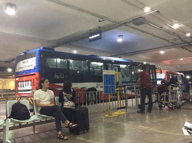 マニラニノイアキノ国際空港シャトルバス