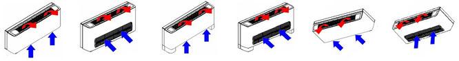 Universal fan coil unit