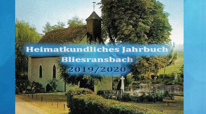 Das neue, heimatkundliche Jahrbuch von Bliesransbach ist da.