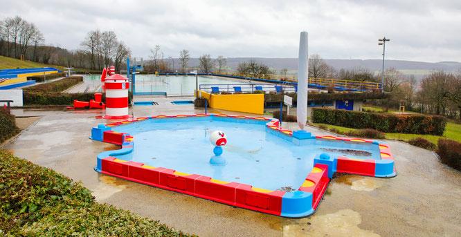 Das alte Kinderbecken im Kleinblittersdorfer Freibad wird durch ein neues ersetzt.