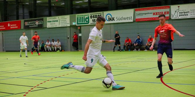 Philipp Wunn war einer der stärksten Spieler des SV Auersmacher in der Vorrunde.