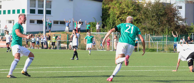 Archivfoto vom 8:2-Sieg im Saarlandpokal-Halbfinale gegen Borussia Neunkirchen.