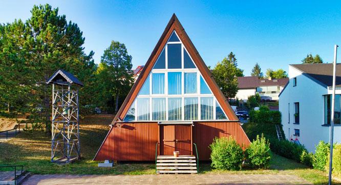 Die evangelische Kirche in Bliesransbach.