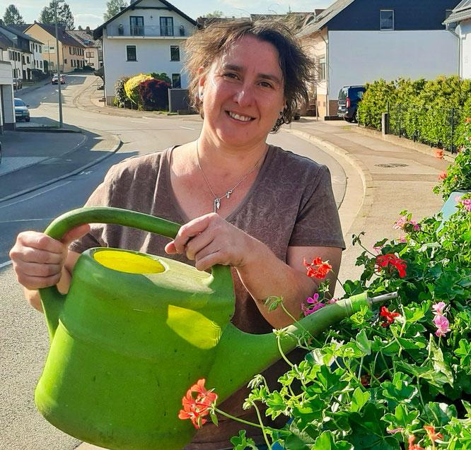 Petra Hartmann ist seit neun Jahren die Vorsitzende des Obst- und Gartenbauvereins Bliesransbach. Foto: Christoph Kircher (Verein).