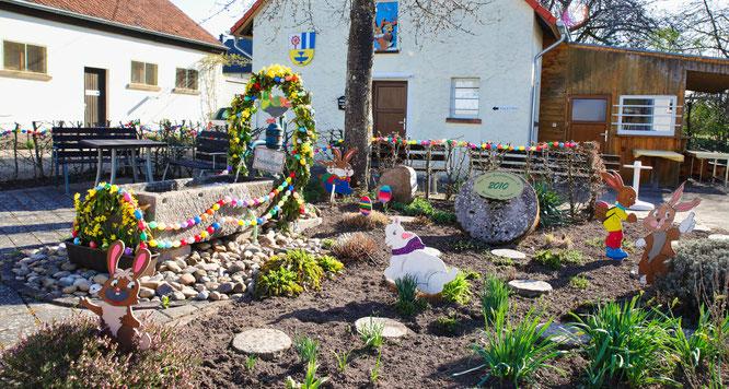Der Garten des Obst- und Gartenbauvereins in Rilchingen-Hanweiler.