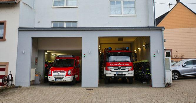 Im Kleinblittersdorfer Feuerwehrgerätehaus ist zu wenig Platz.