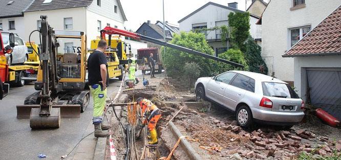 In Bliesransbach stehen nach dem Unwetter Familien praktisch vor dem Nichts.