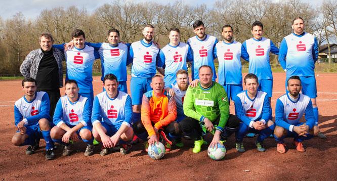 Die Mannschaft des SV Sitterswald.