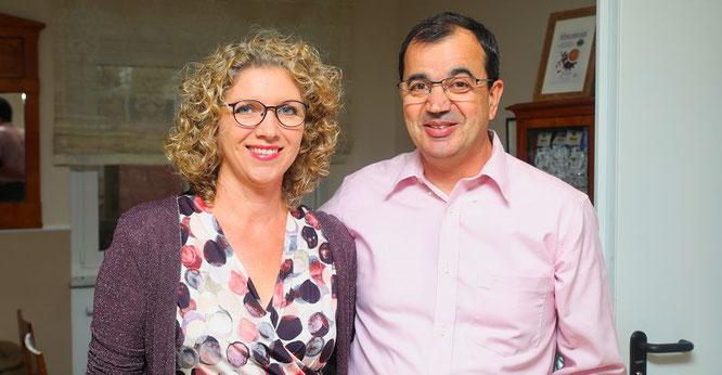 Gabi und Michael Forster führen seit einem halben Jahr erfolgreich das Dorfcafé in Rilchingen-Hanweiler.