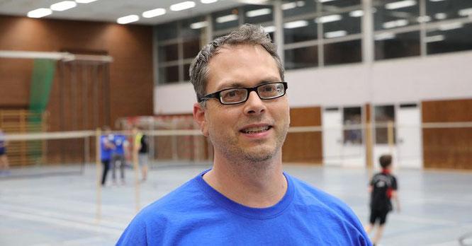 Andreas Karmann ist der Vorsitzende der Badminton-Abteilung der Schwimm- und Sportfreunde.