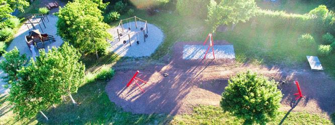 Der Spielplatz in der Gräfinthaler Straße in Bliesransbach zählt zu den schönsten in der Gemeinde Kleinblittersdorf.