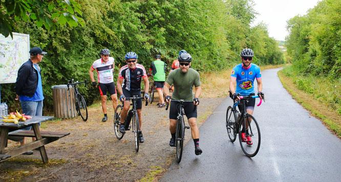 120 Teilnehmer kamen am vergangenen Sonntag zur ersten Radtouristikveranstaltung des Jahres im Saarland nach Bliesransbach.