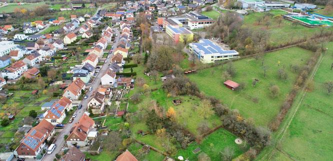 """Das Gebiet """"Vor dem Allment"""" in Kleinblittersdorf soll zum Baugebiet werden."""