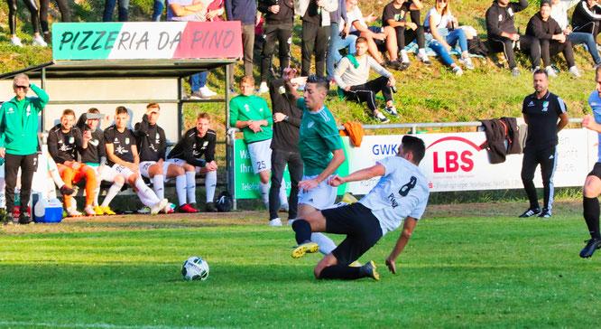 Archiv-Foto: FC Kleinblittersdorf - SV Auersmacher.