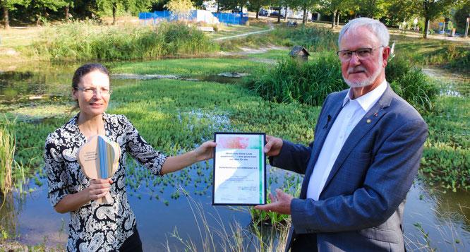 Rebekka Nadig und Hans Scholten.