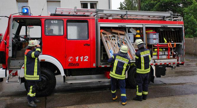 Die Feuerwehren in der Gemeinde Kleinblittersdorf waren heute im Großeinsatz.
