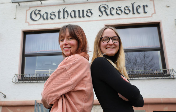 Die Kessler-Zwillinge Lina (links) und Klara aus Bliesransbach denken und handeln fast immer gleich, doch es gibt einen großen Unterschied.