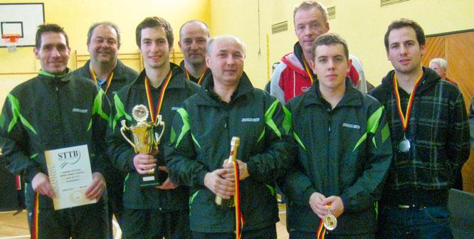 Landespokalsieger 2012 mit Christoph Miodek (Bildmitte).