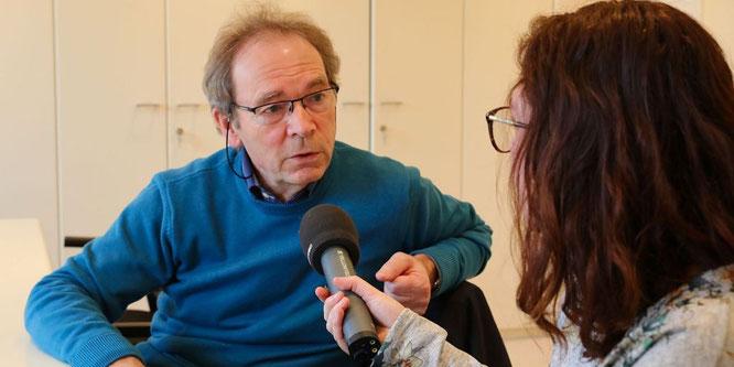 Joel Niederlaender, der Bürgermeister von Großblittersdorf im Interview