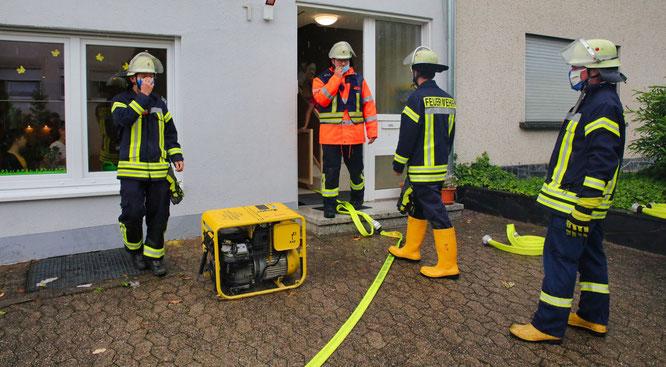 Die Feuerwehrleute in Rilchingen-Hanweiler waren vier Stunden im Einsatz.