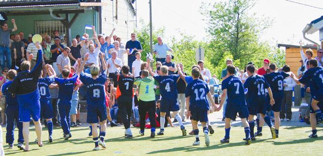 Im Jahr 2007 begann mit der Meisterschaft in der Bezirksliga der große Aufstieg des SV Bübingen bis zur Vizemeisterschaft in der Saarlandliga.