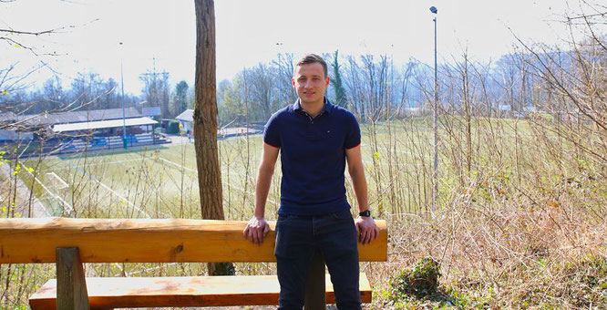 Tobias Hauer soll der neue Vorsitzende des neuen Fuballvereins SV 19 Bübingen werden.