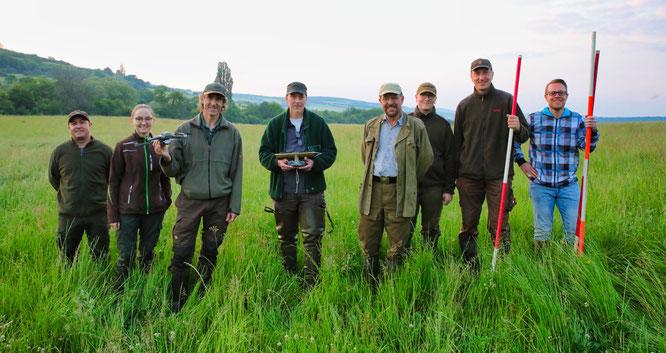 Jäger aus Bliesransbach retten Rehkitzen das Leben.